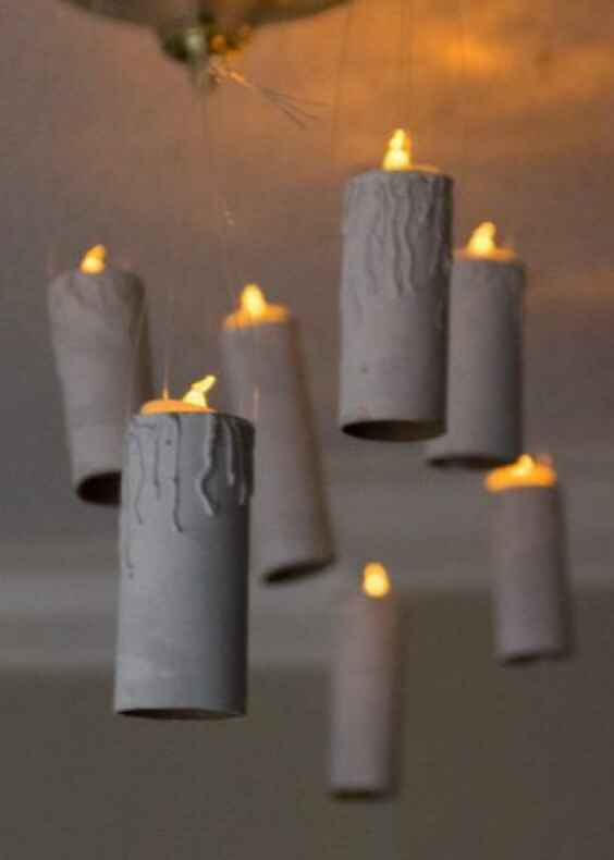 Décoration avec bougies 🕯 - 3