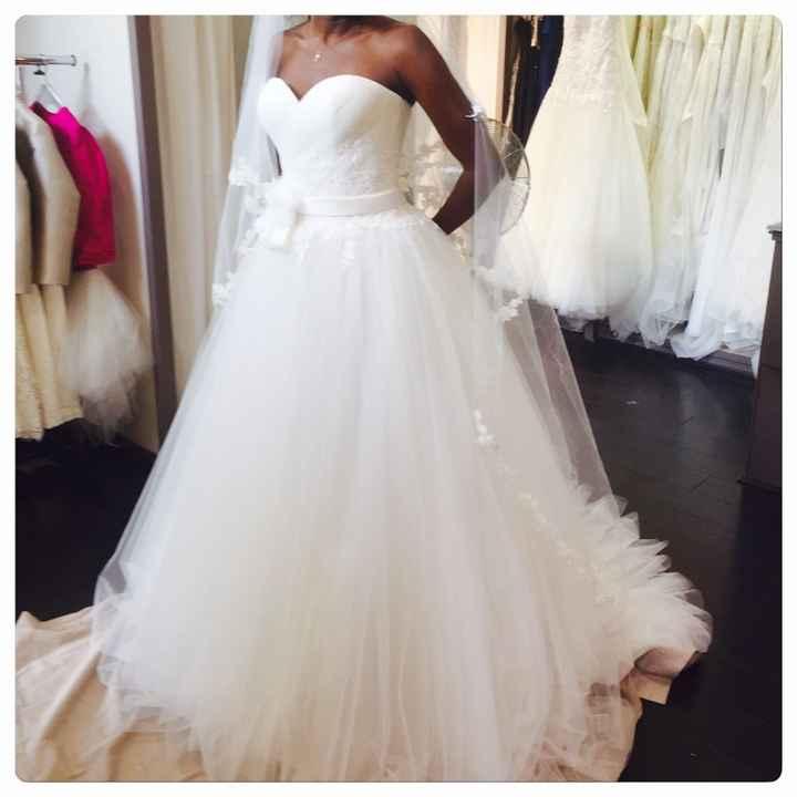 Coût de la robe de mariée - 1