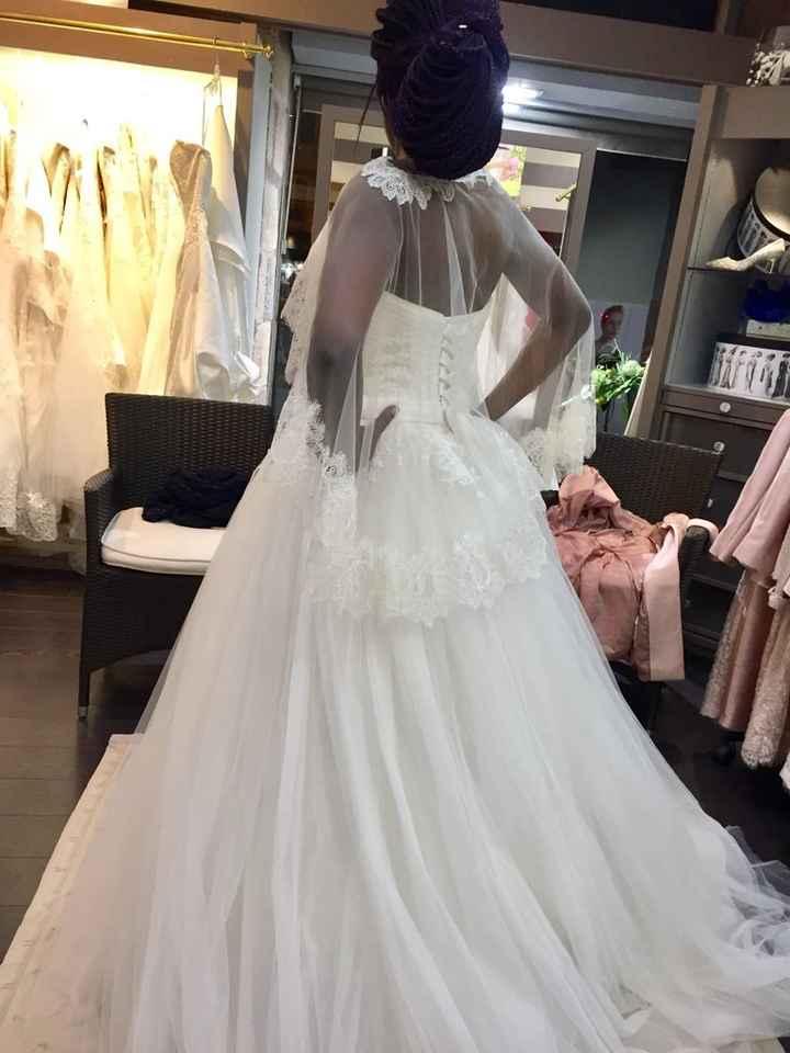 Coût de la robe de mariée - 2