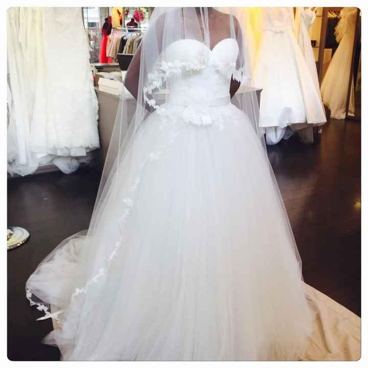 Coût de la robe de mariée - 3
