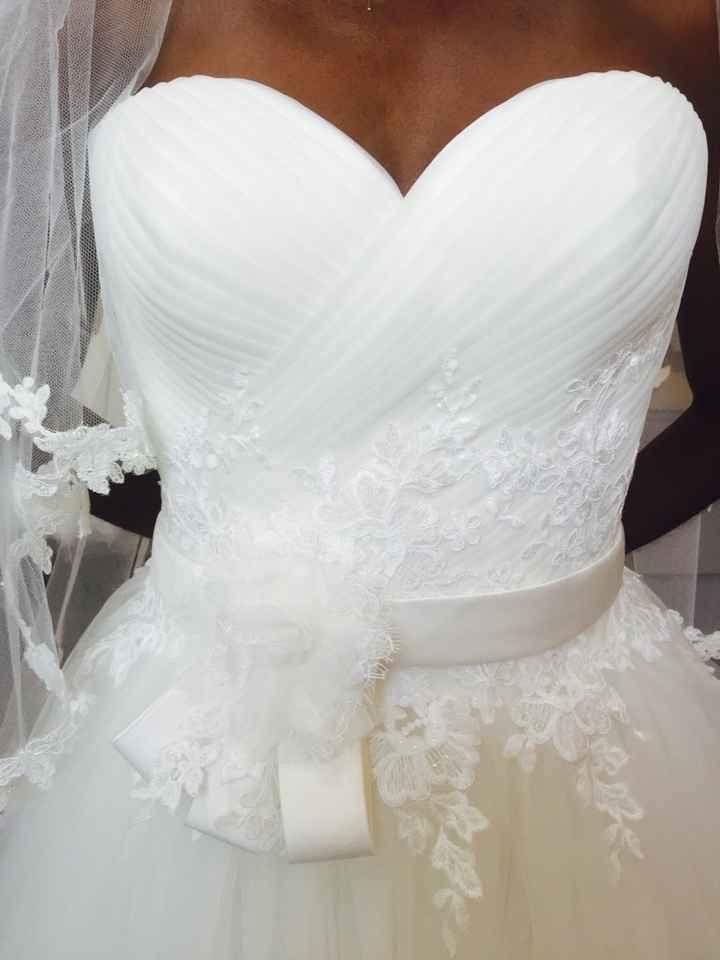 Coût de la robe de mariée - 4