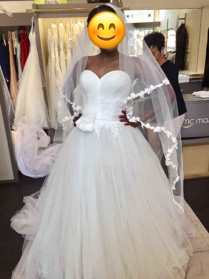 Eh eh j'ai revu ma robe pour les retouches💕💕 - 4