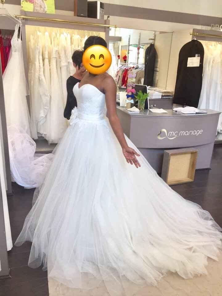 J'ai revu ma robe, avec ou sans gilet? - 2
