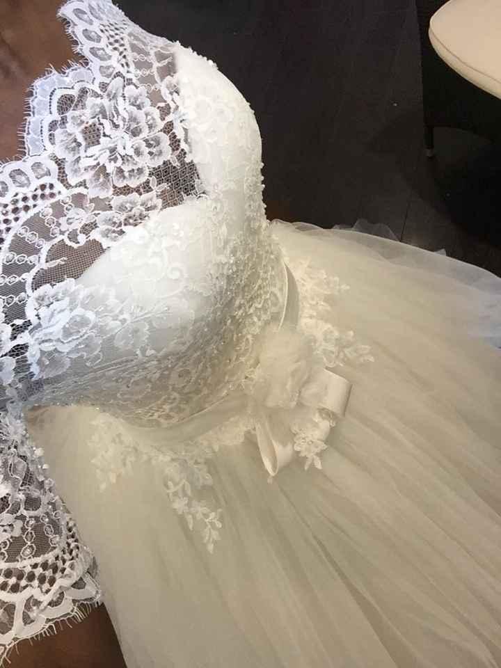J'ai revu ma robe, avec ou sans gilet? - 3