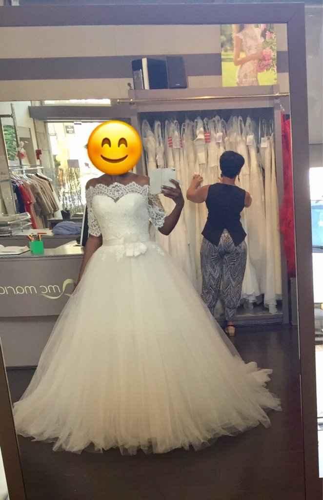J'ai revu ma robe, avec ou sans gilet? - 4