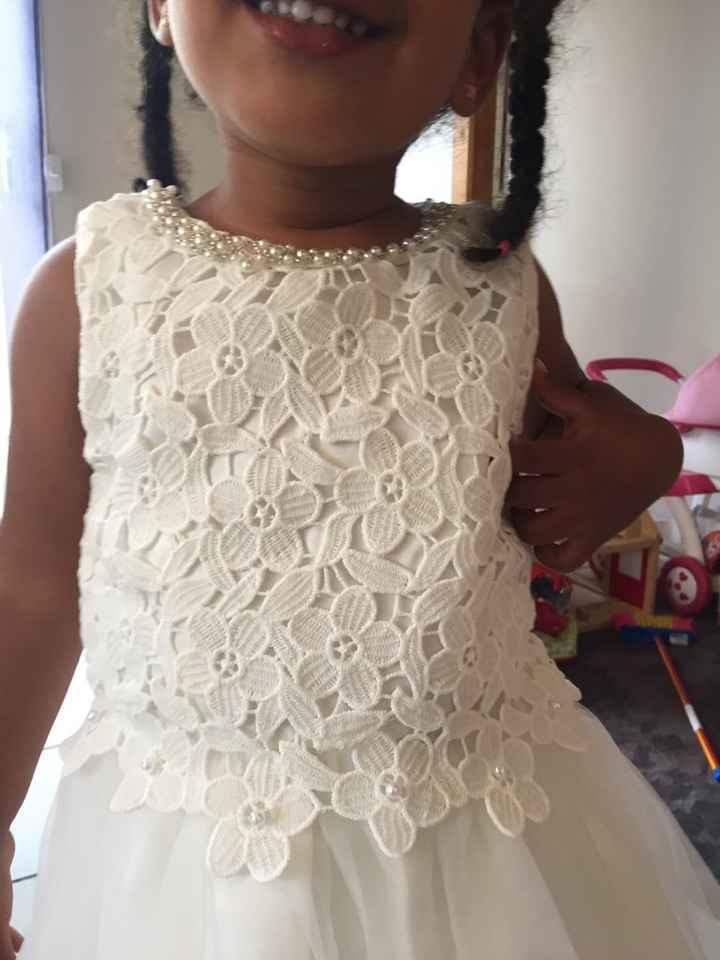 Ma fille a enfin sa robe 😍 - 1