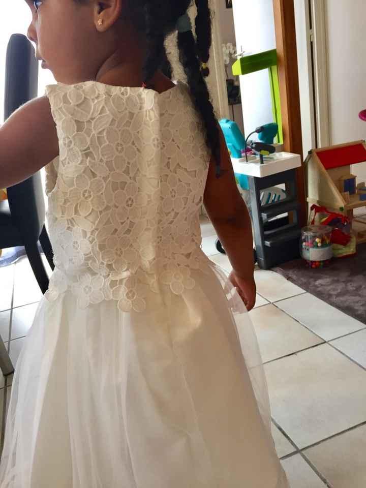 Ma fille a enfin sa robe 😍 - 2