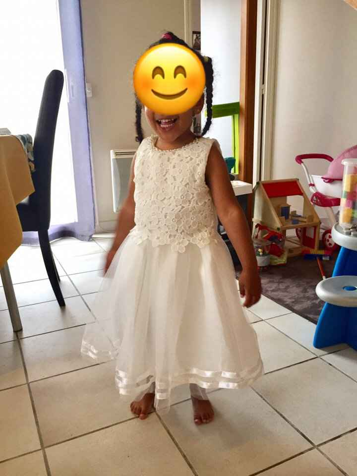 Ma fille a enfin sa robe 😍 - 3