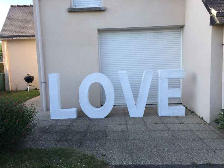 Notre love lumineux 100% diy! - 1