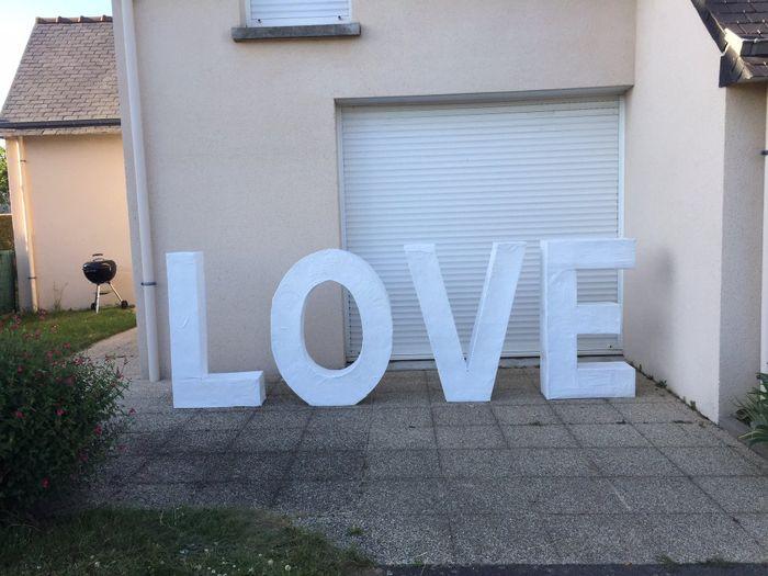 Lettres géantes - 1