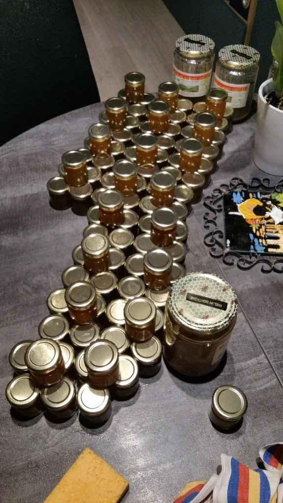 petits pots de miel maison