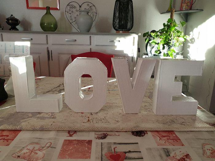 diy lettres love 2