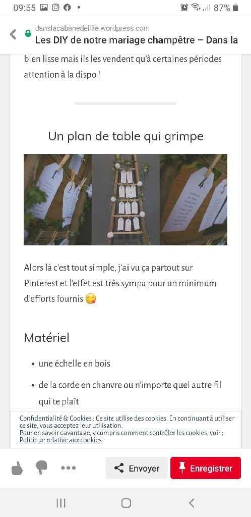 [Diy] plan de table - 1