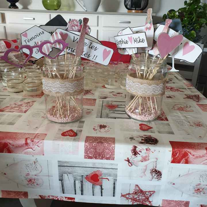 Accessoires photobooth et bougeoirs - 1