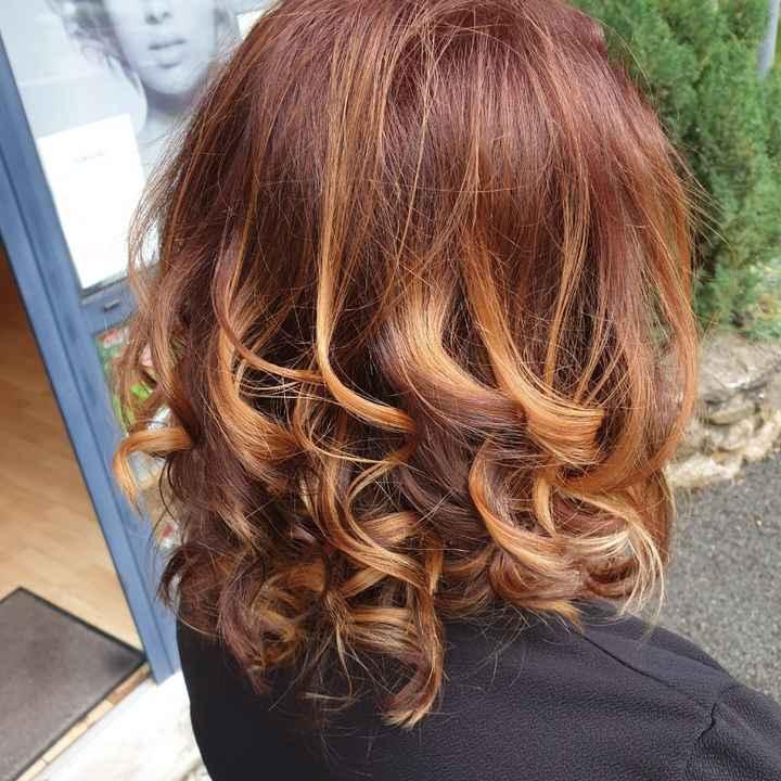 Coloration cheveux et colorimetrie - 1