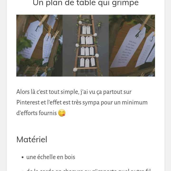 Présentation plan de table - 1
