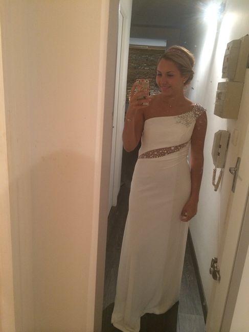 Dilemme: prévoyez vous une robe de soirée après l'ouverture de bal? - 1