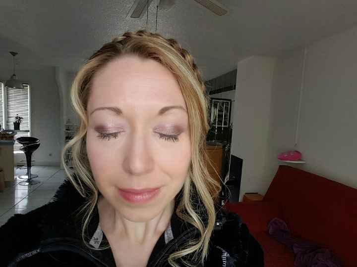C'est aujourd'hui :essais maquillage & coiffure - 1