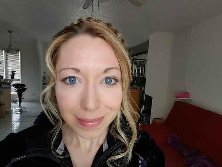 C'est aujourd'hui :essais maquillage & coiffure - 4