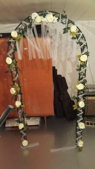 D coration arche c r monie la que d coration forum for Decoration ceremonie