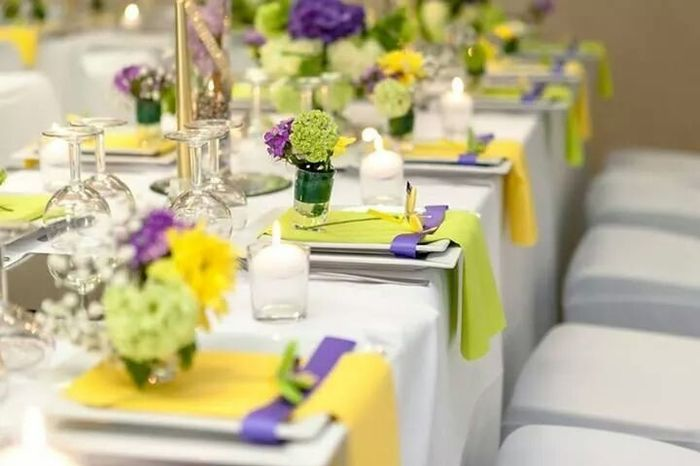 Quelles sont les couleurs de votre mariage 1 photo d coration - Quelles sont les couleurs ...