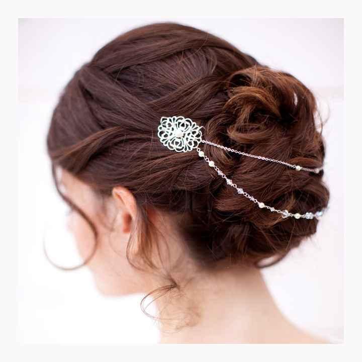 Le bijoux de cheveux