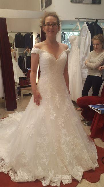 Essai retouche de ma robe de mariée !! - Mode nuptiale - Forum Mariages.net