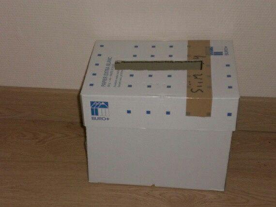 Mon mariage petit budget diy urnes 2 photo d coration for Comment faire une boite en carton creteil