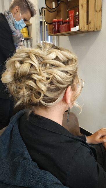Longueur cheveux & chignon 9