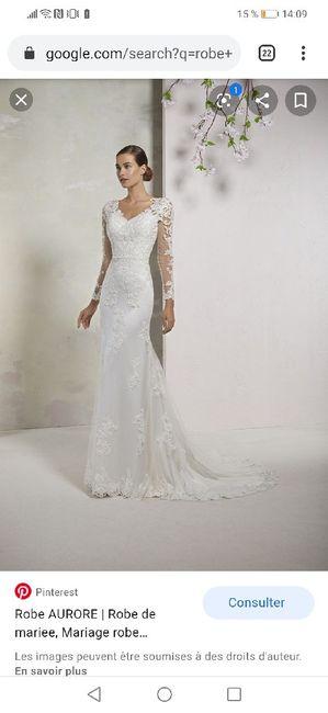 As-tu un modèle de robe à ton nom ? - 1
