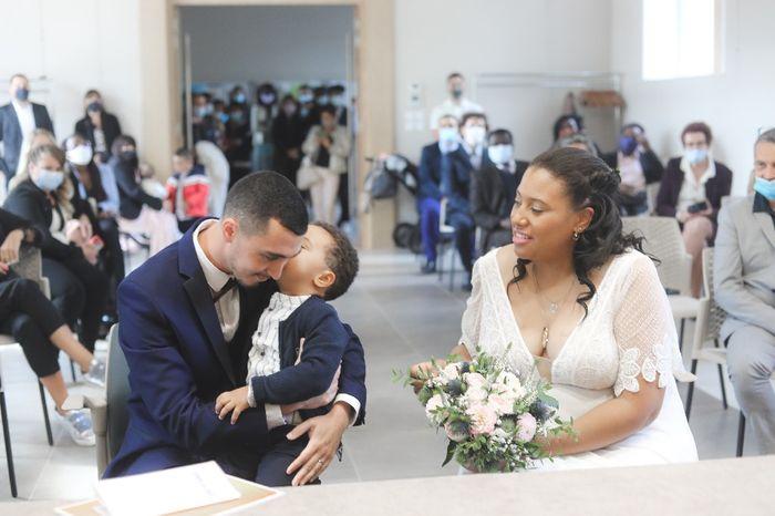 Mon mariage, le 3 octobre 1