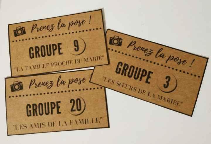 Cartons groupes photo diy - 1