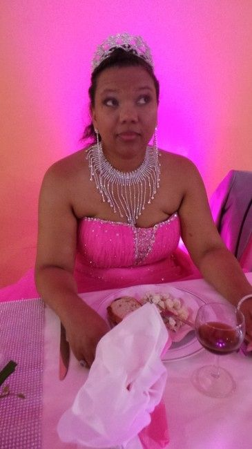 la mariée drole de tête