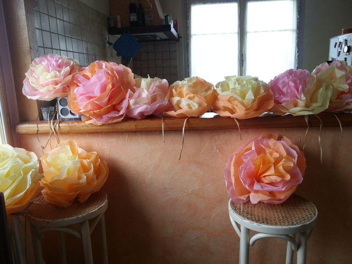 Fabriquez Une Fleur Geante En Papier Decoration Forum Mariages Net