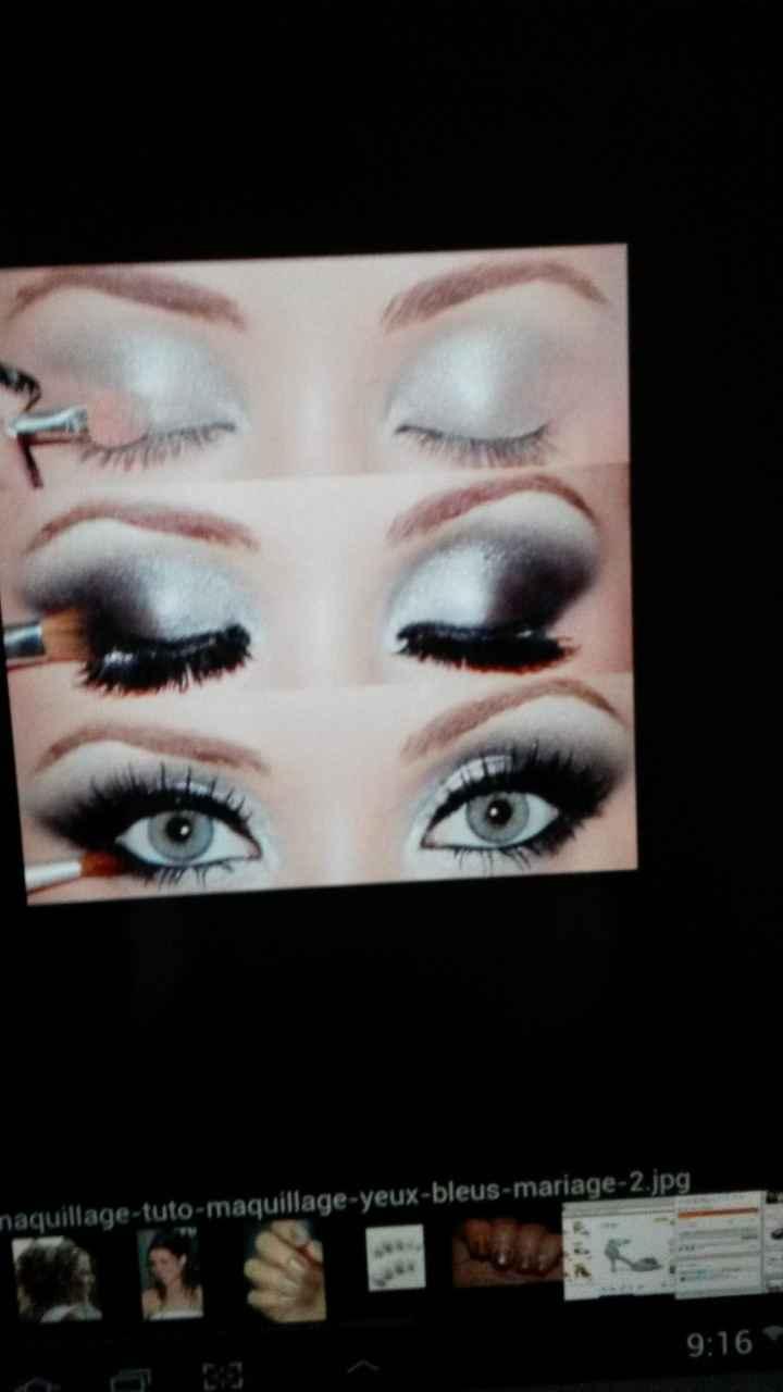 10 maquillages pour les yeux bleus ! - 1