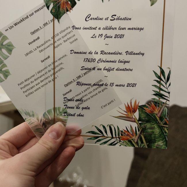 Quel type de papier pour ton invitation ? - 2