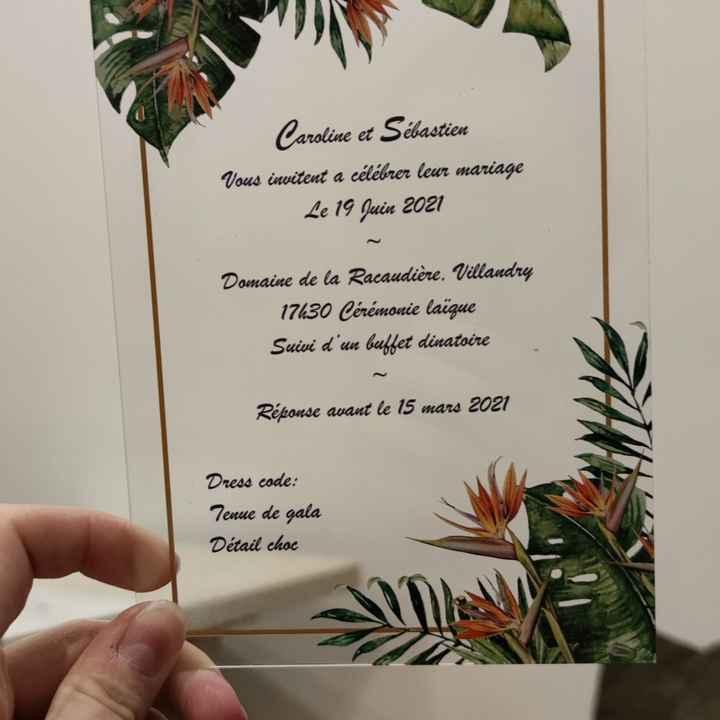 Quel type de papier pour ton invitation ? - 1