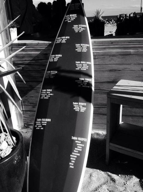 Plan de table planche de surf 1 photo d coration - Table planche de surf ...