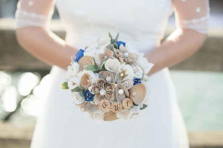 Inspiration bouquet bleu - 1
