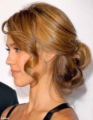 coiffure chignion