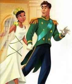 Inspi mariage princesse et la grenouille - 1