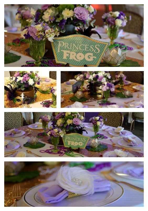 Inspi mariage princesse et la grenouille - 6