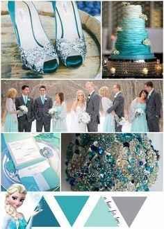 Inspi mariage Reine des neiges - 2