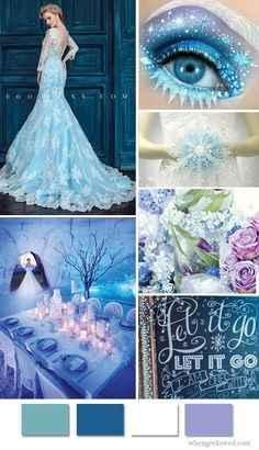 Inspi mariage Reine des neiges - 3