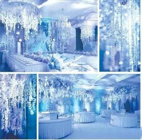 Inspi mariage Reine des neiges - 11