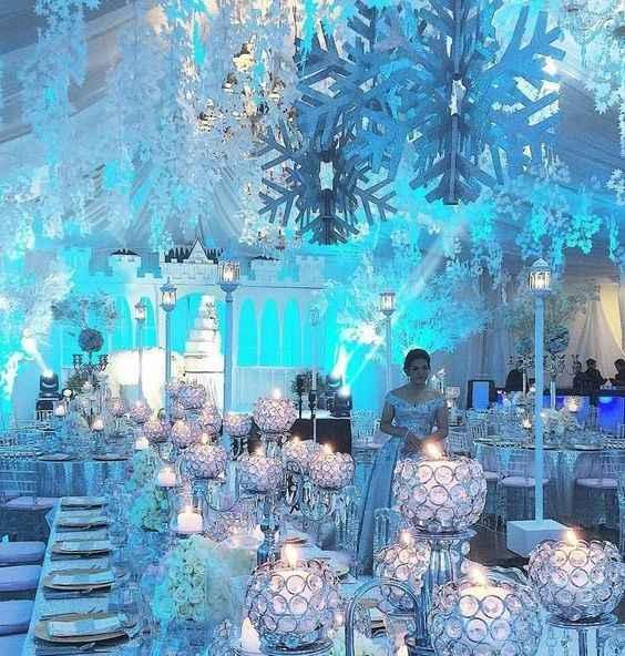 Inspi mariage Reine des neiges - 12