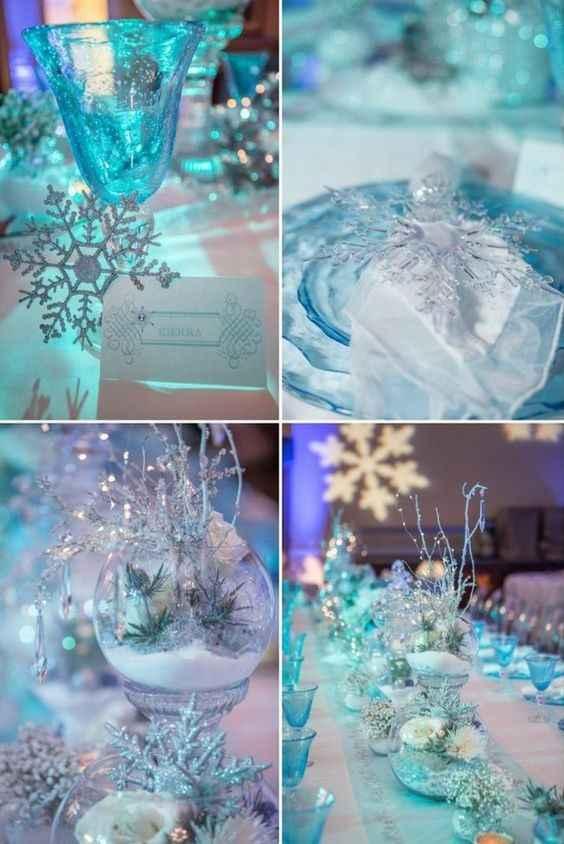 Inspi mariage Reine des neiges - 13