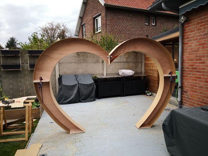 Fabrication de mon Arche pour la cérémonie Laique 1
