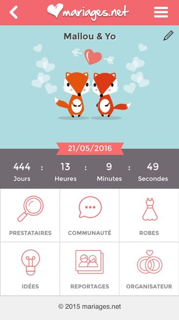 Compte rebours g n ral 1 photo - Compte a rebours mariage ...