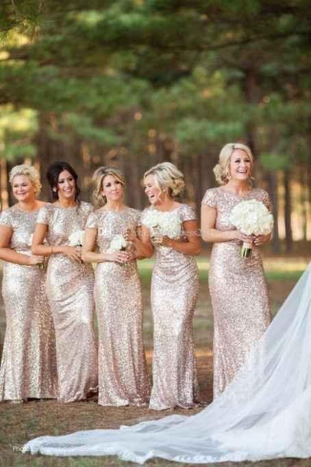 Les robes des demoiselles d'honneur